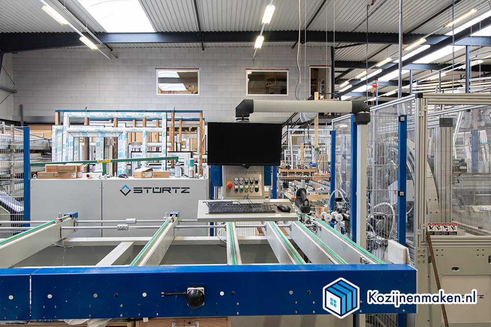 Onze kunststof fabriek in Katwijk